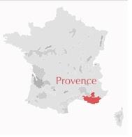 Carte Provence France