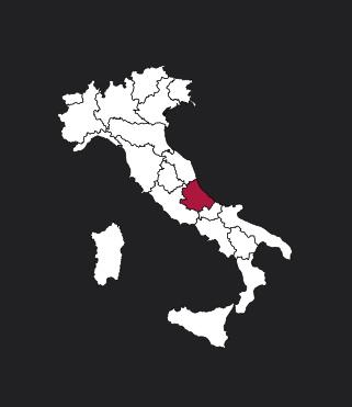 Carte Abruzzes Italie