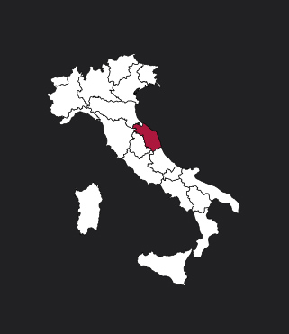 Carte Marches Italie